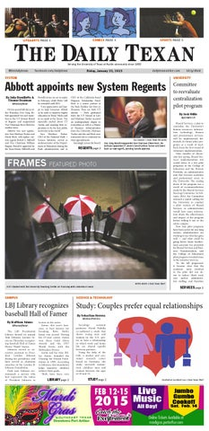 Issue for January 23, 2015