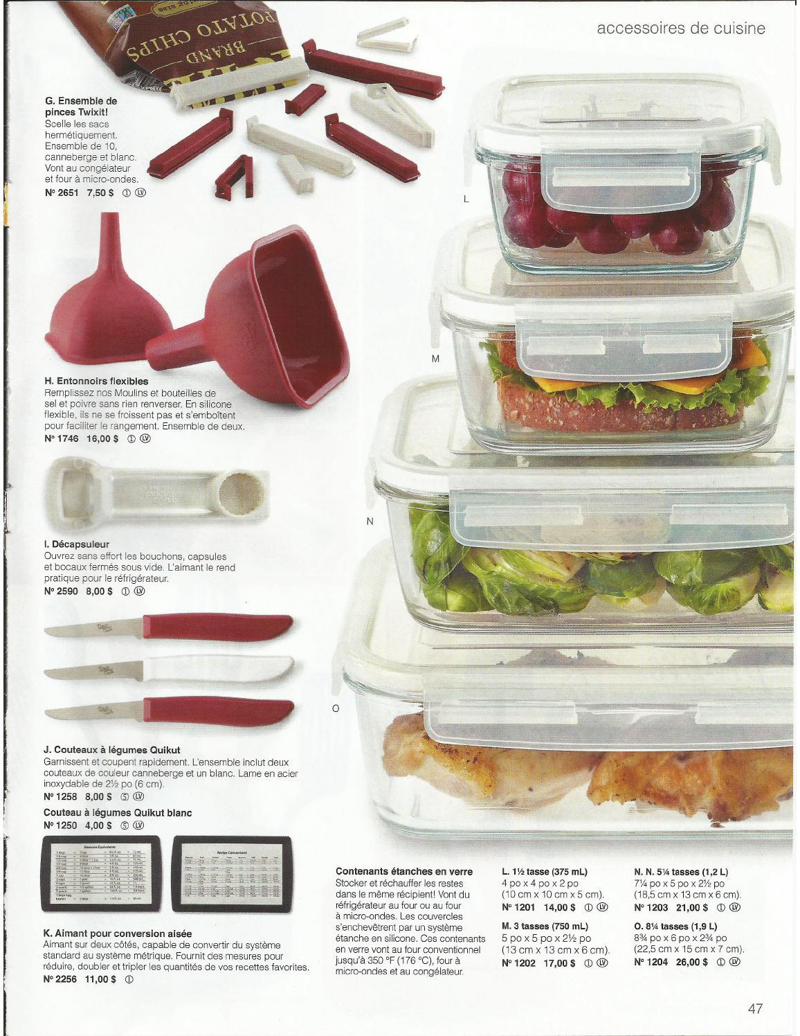 Food Récipient Réfrigérateur Congélateur organisateur de stockage à sec ou des restes de nourriture Couvercle Joint