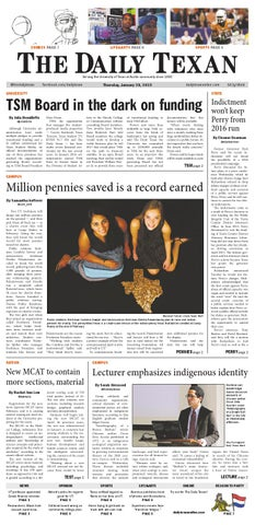 Issue for January 29, 2015