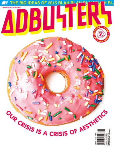 Adbusters #117: Blueprint for a New World Part VI (Aesthetico) cover
