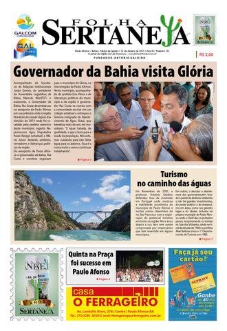 Jornal Folha Sertaneja ( Paulo Afonso BA)
