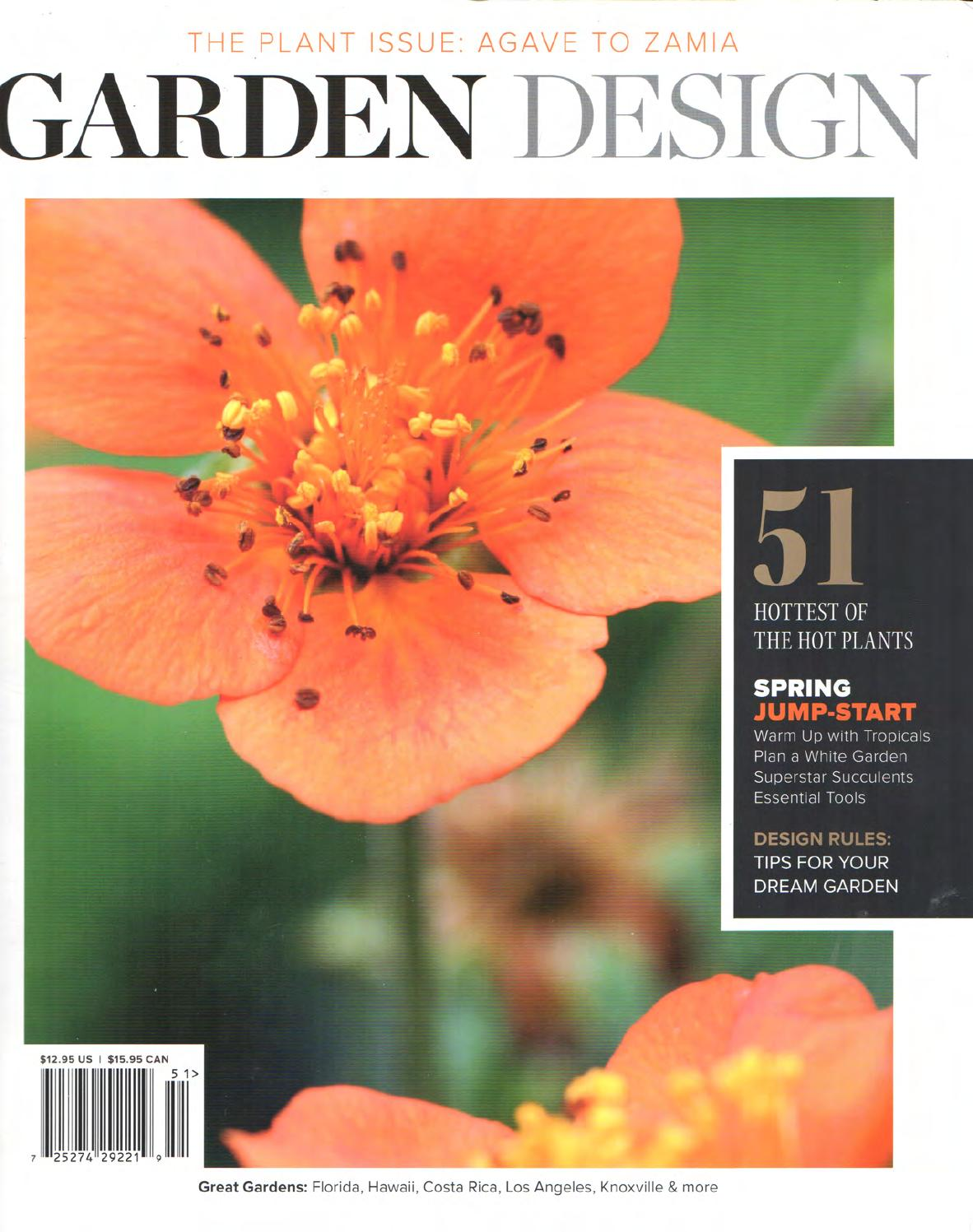 Page for Garten design magazin