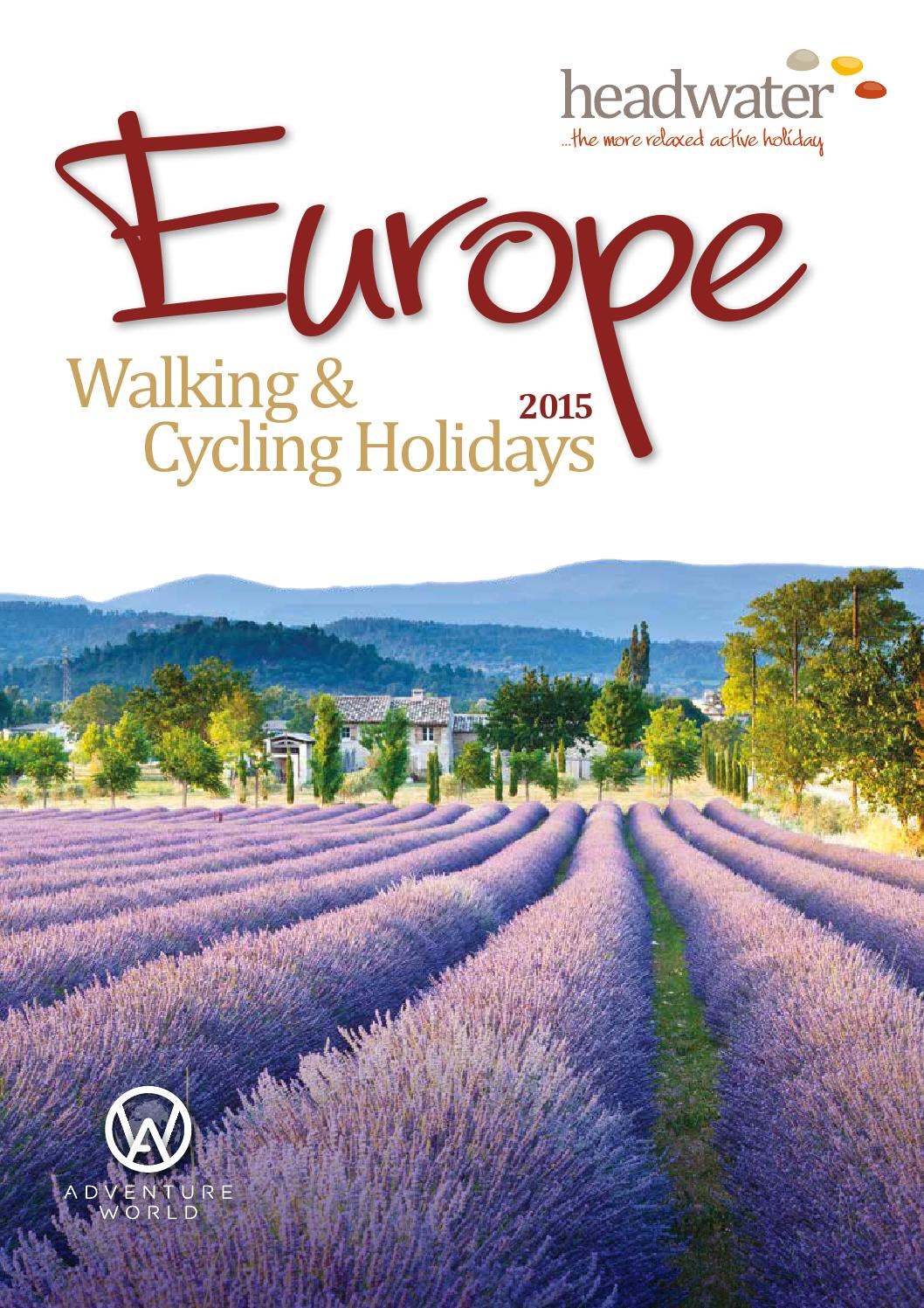 Headwater Walking & Cycling 2015
