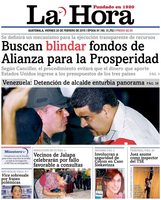 ISSUU - Diario La Hora 20-02-2015 by La Hora