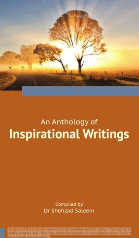 An Anthology of Inspirational Writings