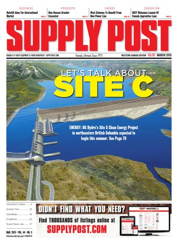 Supply Post Western Cover - March 2015