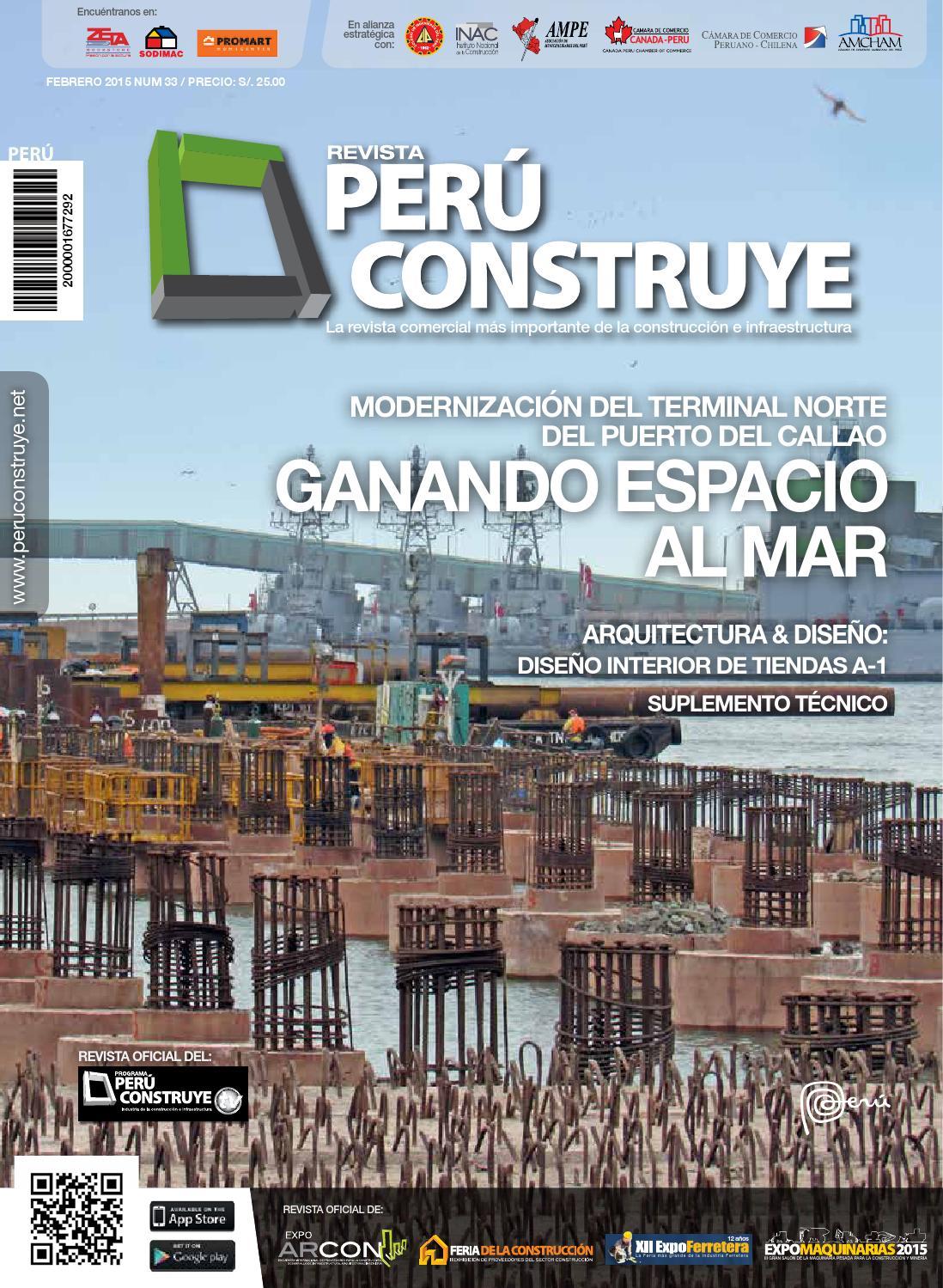 ISSUU - REVISTA PERÚ CONSTRUYE ED. 33 by Grupo Digamma