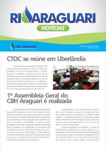 Informativo online - Rio Araguari Notícias - 3ª edição