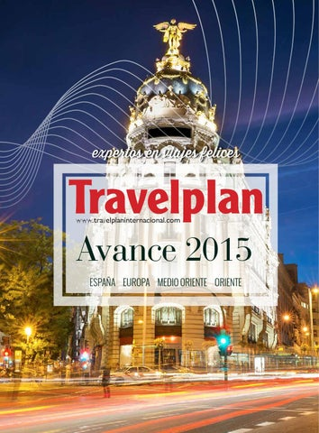 Mayoristas de Viajes  Travelplan Avance 2015