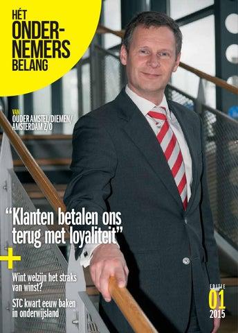 Het Ondernemersbelang Ouder Amstel 1-2015