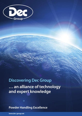 Dec Group Company Brochure