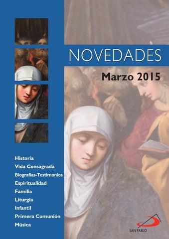 Boletín de novedades Marzo 2015