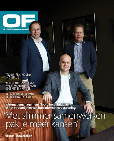 OF | Ondernemend Friesland | magazine| editie 2 | maart | 2015