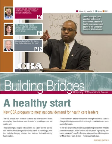 Building Bridges Spring 2015