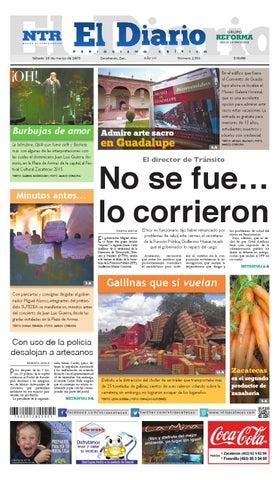 Portada del El Diario NTR | Sábado 28 de Marzo del 2015