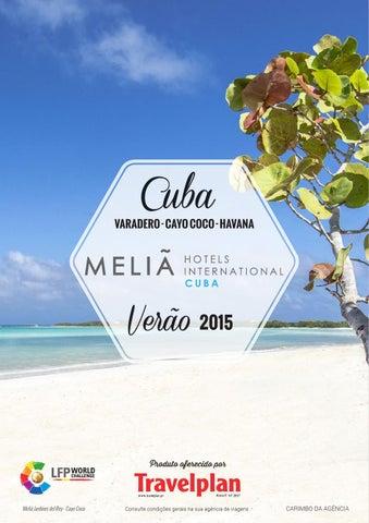 Mayoristas de Viajes Travelplan 2015Diptico melia cuba 15 16