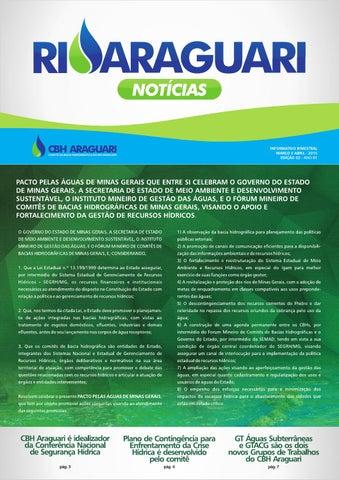 Informativo impresso - Rio Araguari Notícias - 2ª edição