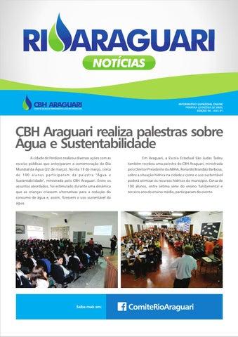 Informativo online - Rio Araguari Notícias - 6ª edição