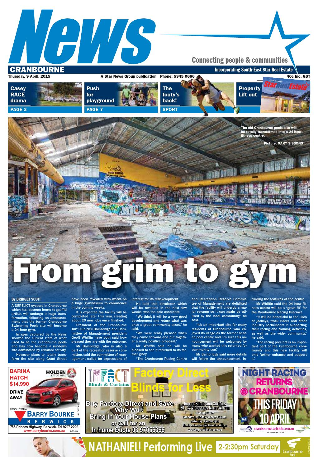 Issuu News Cranbourne 09th April 2015 By Star News Group