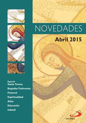 Bolentín de novedades mes de Abril 2015