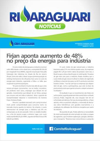 Informativo online - Rio Araguari Notícias - 7ª edição