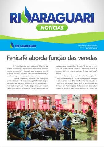 Informativo online - Rio Araguari Notícias - 5ª edição
