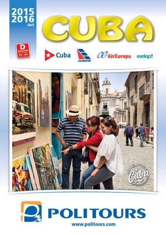 Mayoristas de Viajes Politours kerala viajes cuba 2015