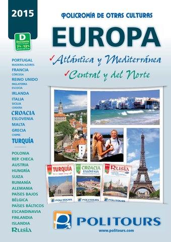 Mayoristas de Viajes Politours keralaviajes europa 2015