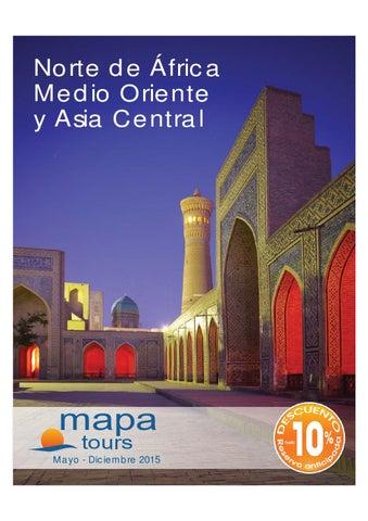 Mayoristas de Viajes Mapa tours oriente africa asia