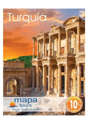 Mayoristas de Viajes Mapa tours turquia 2015