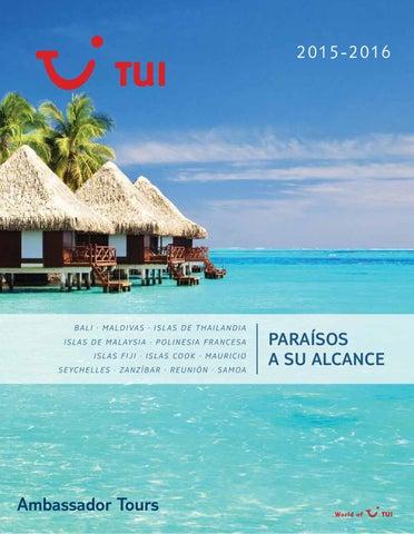 Mayoristas de Viajes Tui ambassador tours islas paraisos exoticos kerala