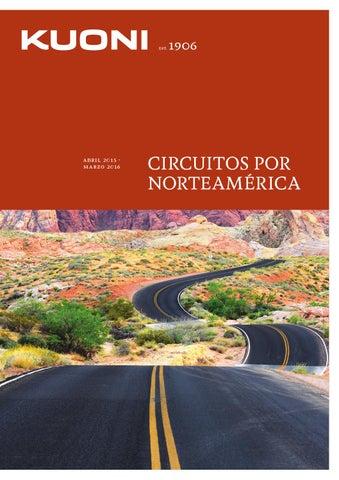Mayoristas de Viajes Kuoni circuitos por norteamerica 2015