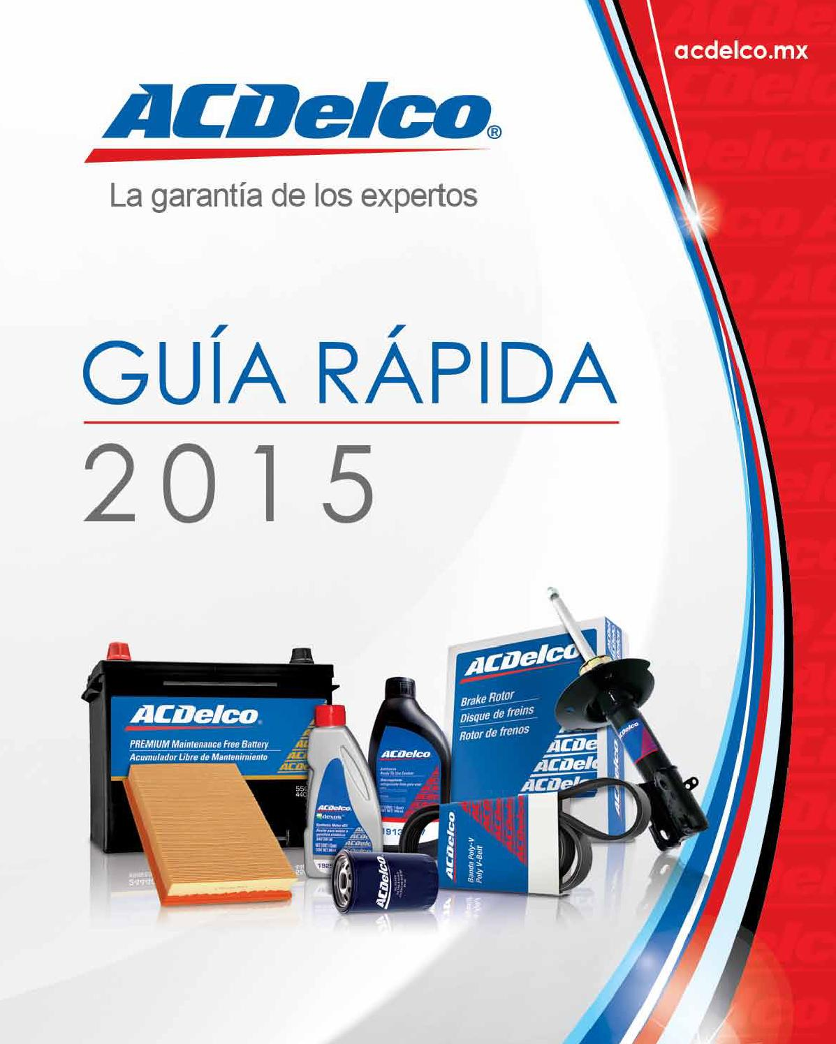 Issuu Guia Rapida Acdelco 2015 By Narciso Rojas