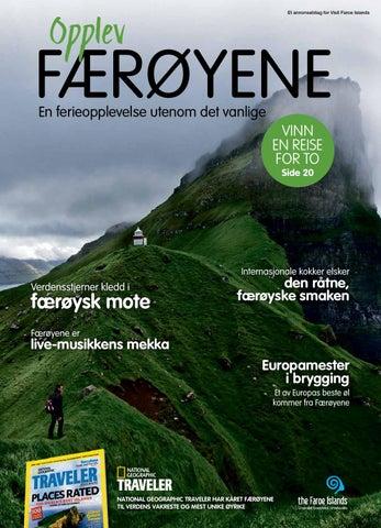 Opplev Færøyene