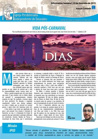 Boletim Informativo do dia 22 de fevereiro de 2015
