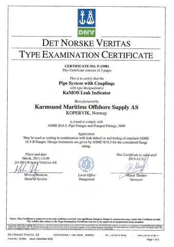3 – KaMOS® Type Eximination Certificate - Certificates – KaMOS<sup>®</sup>