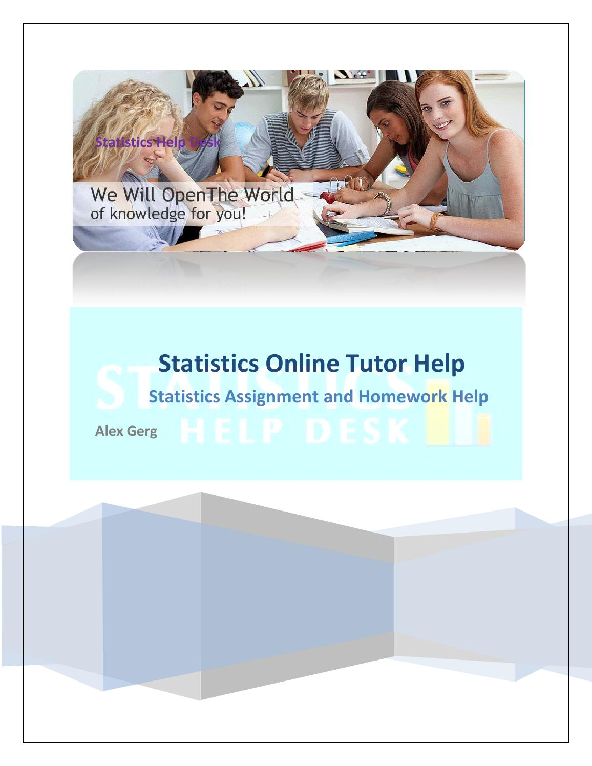 college statistics tutor