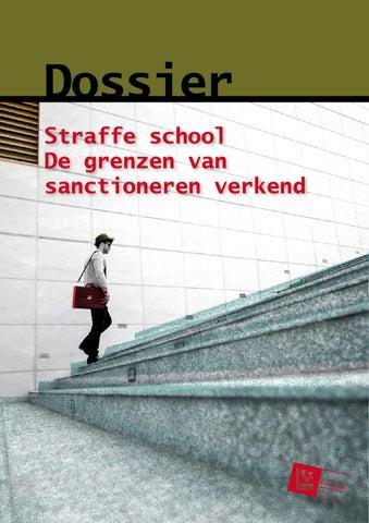 Straffe school. De grenzen van sanctioneren verkend
