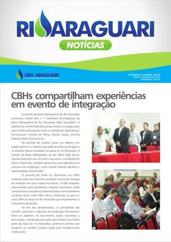 Informativo online - Rio Araguari Notícias - 8ª edição
