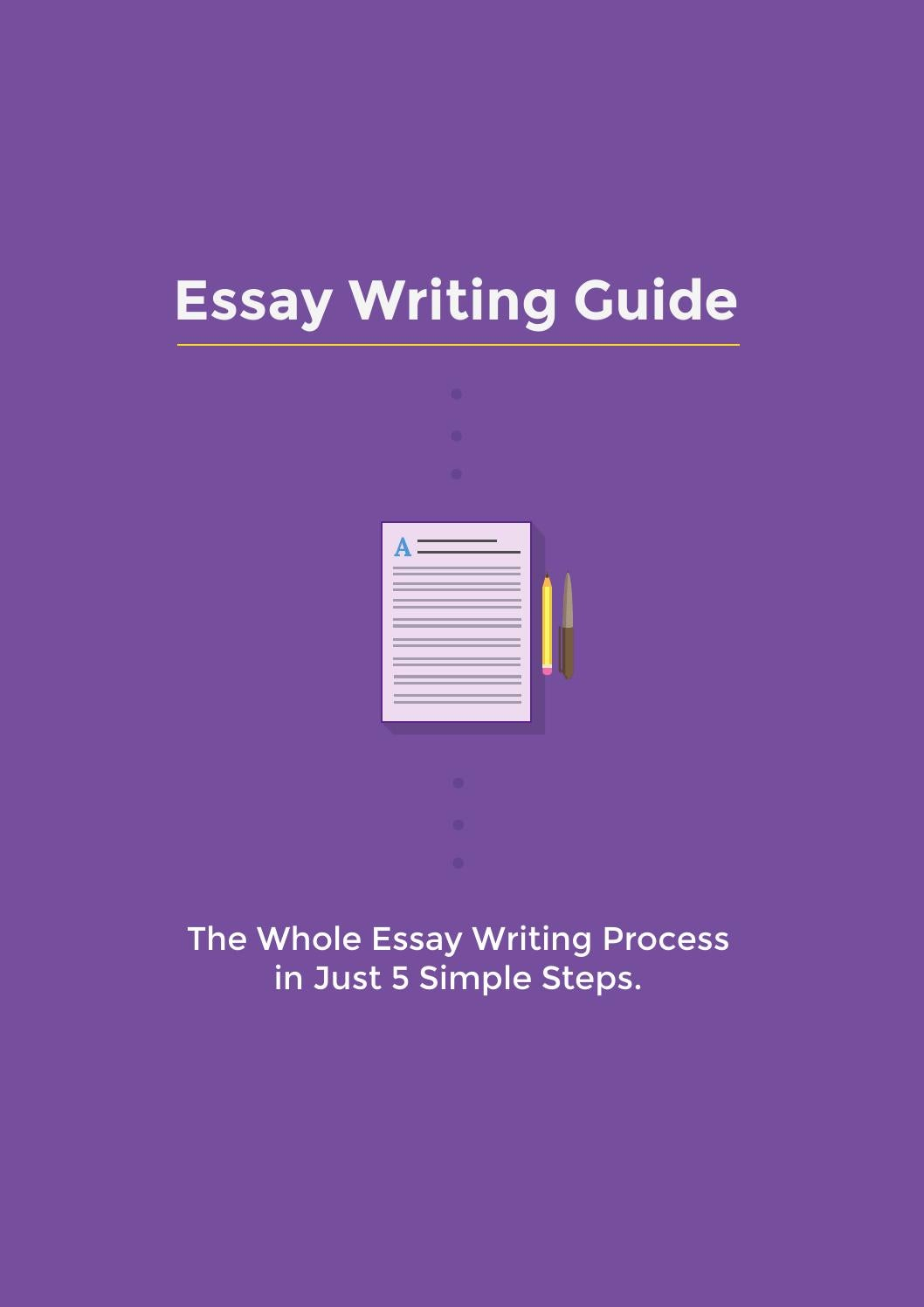 simple guide to writing essays