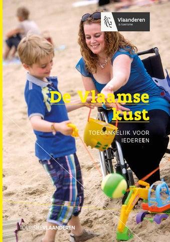 De Vlaamse kust, toegankelijk voor iedereen