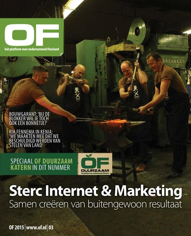 OF | Ondernemend Friesland | magazine| editie 3 | mei | 2015
