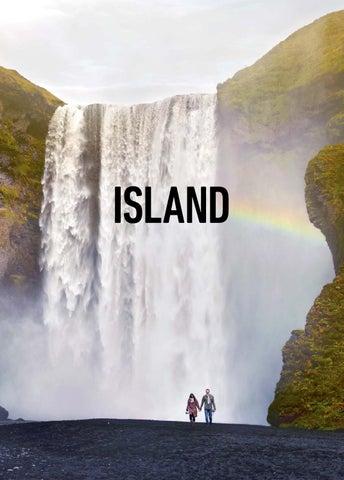 Island turistbrochure