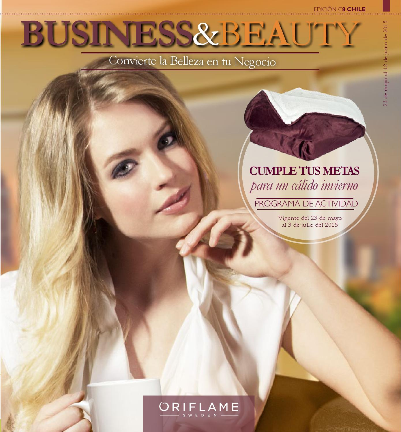 ISSUU - Revista business&beauty chile c8 by Oriflame Latinoamérica