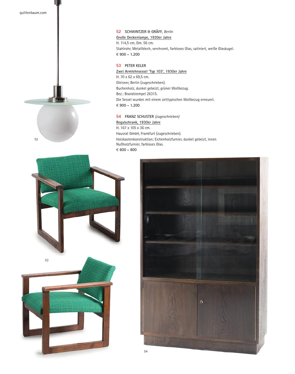 issuu auction 121a design made in germany. Black Bedroom Furniture Sets. Home Design Ideas