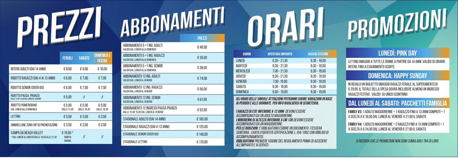 Issuu komodo castelfranco prezzi e orari piscina for Busatta piscine prezzi