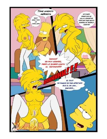 Комиксы симпсоны голые