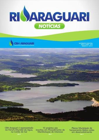 Informativo impresso - Rio Araguari Notícias - 3ª edição