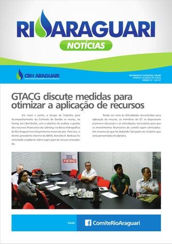 Informativo online - Rio Araguari Notícias - 10ª edição