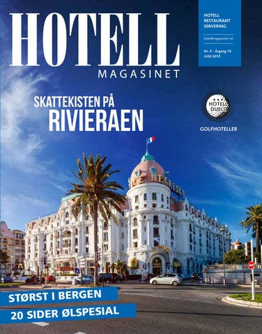Hotellmagasinet - Nr. 4 2015